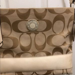 Coach cross body medium size